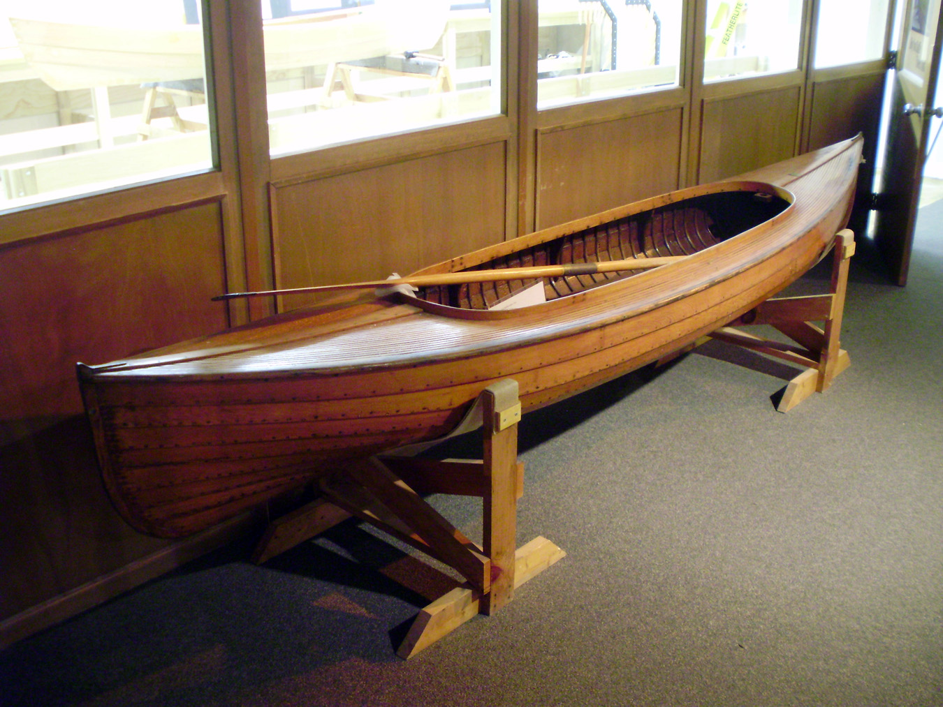 Taking the Lines: Measuring a Historic Lapstrake Canoe ...