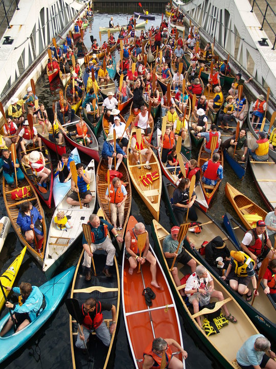 Celebrating Canoe Day at the Canadian Canoe Museum