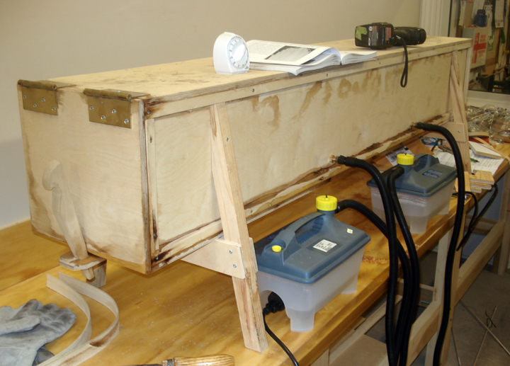 Diy Steam Box Woodworking Plans Wooden Pdf Bench Folds