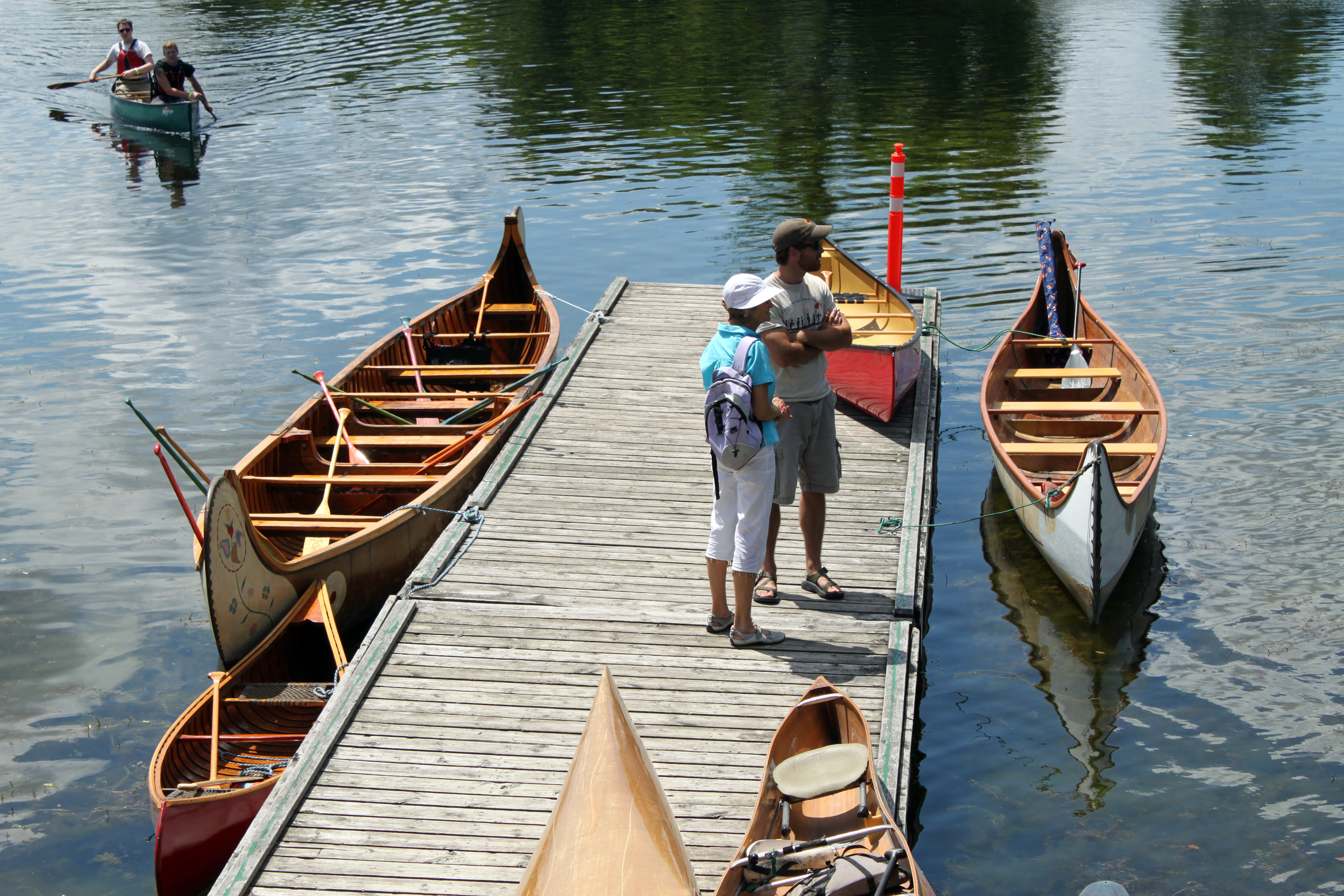 Paddle Canada Big Canoe Program Came To Peterborough The