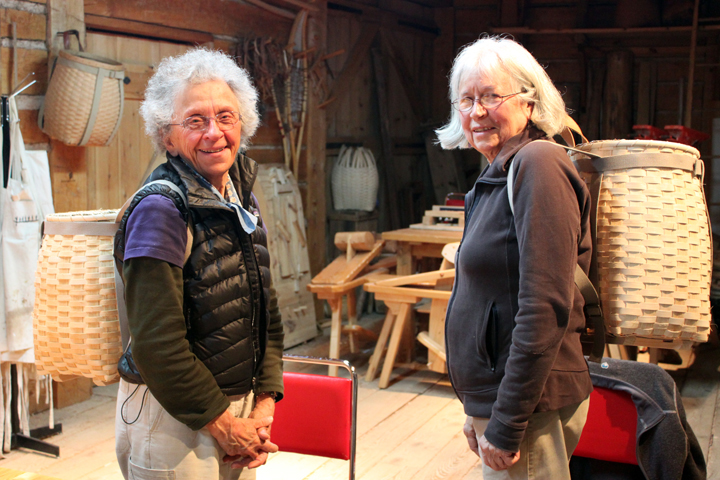 Basket Weaving Peterborough : Basket weaving canadian canoe museum