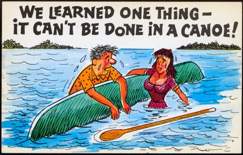 cant be done in canoe