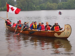 North Canoe at Beavermeade- L. Wicks photo
