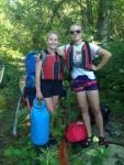 IMG_0468 TRIP girls portage pose KJ & KTWR