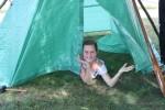 IMG_7341 peeking out of finished shelterWR