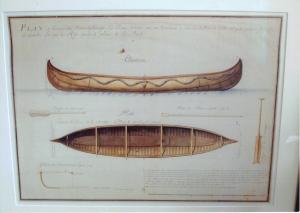Canoe Print