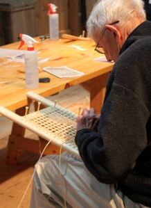 Seat caning IMG_7635