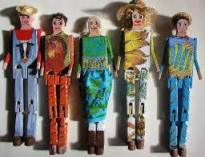 dressed up limberjacks