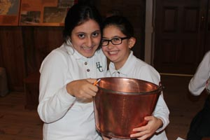 omg we LOVE this copper kettle you've asked us to pose with!