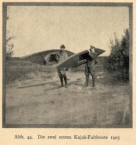 First folding kayaks 1905