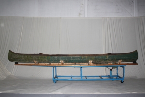 Rice Lake Motor Canoe (CCM Collection accession no. 977.66.1)