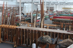 Canadian Canoe Museum onsite Collections Storage Facility (CCM photo)