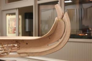 CCM/Russ Parker Alaskan kayak stem detail