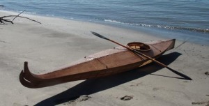 Harvey Golden Chugach kayak (traditionalkayaks.com)