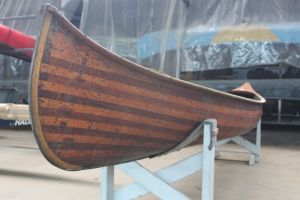 "In Lakefield Canoe Co.'s 1923 Catalogue they described it as ""...one of the most beautiful canoes built."""