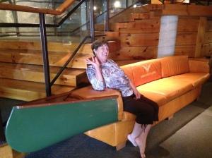 Couch Canoe - Bev Bradbury